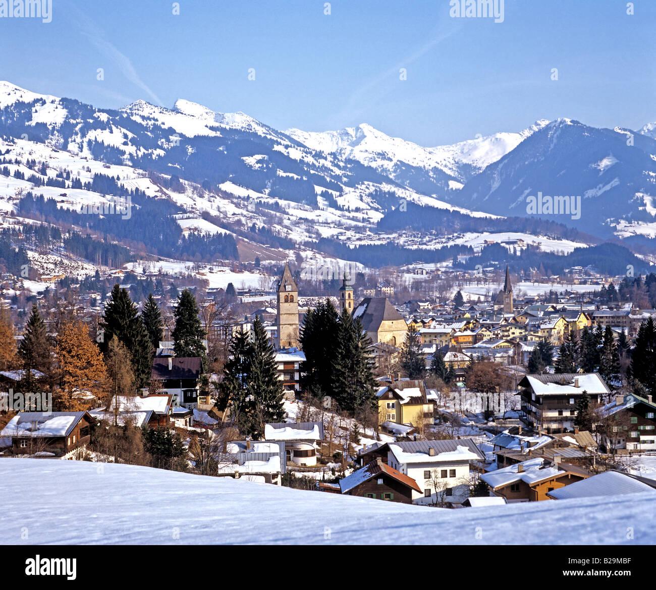 Kitzbuhel Tirol Austria Ref WP STRANGE 3625 COMPULSORY CREDIT World Pictures Photoshot - Stock Image