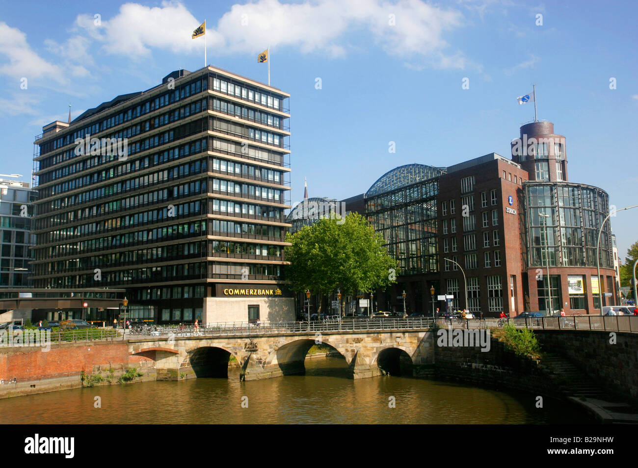 Zollen bridge / Hamburg - Stock Image