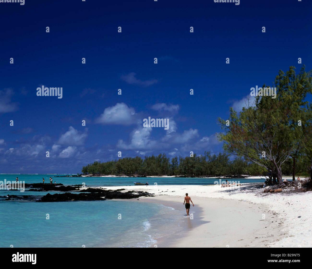 Ile aux Cerfs Mauritius Ref WP DBMAR 210 COMPULSORY CREDIT World Pictures Photoshot - Stock Image