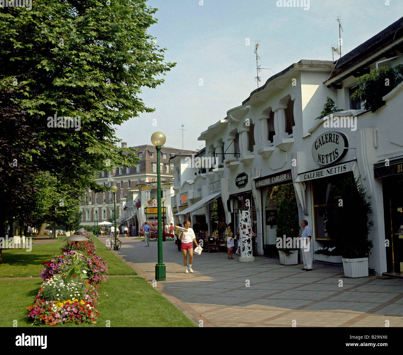 Le Touquet Picardy France Ref GHBF 266 Date 04 10 2007 COMPULSORY CREDIT World Pictures Photoshot Stock Photo