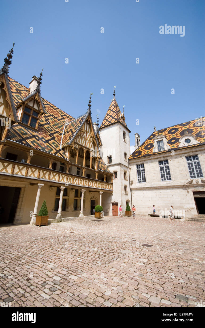 Hôtel-Dieu - Stock Image