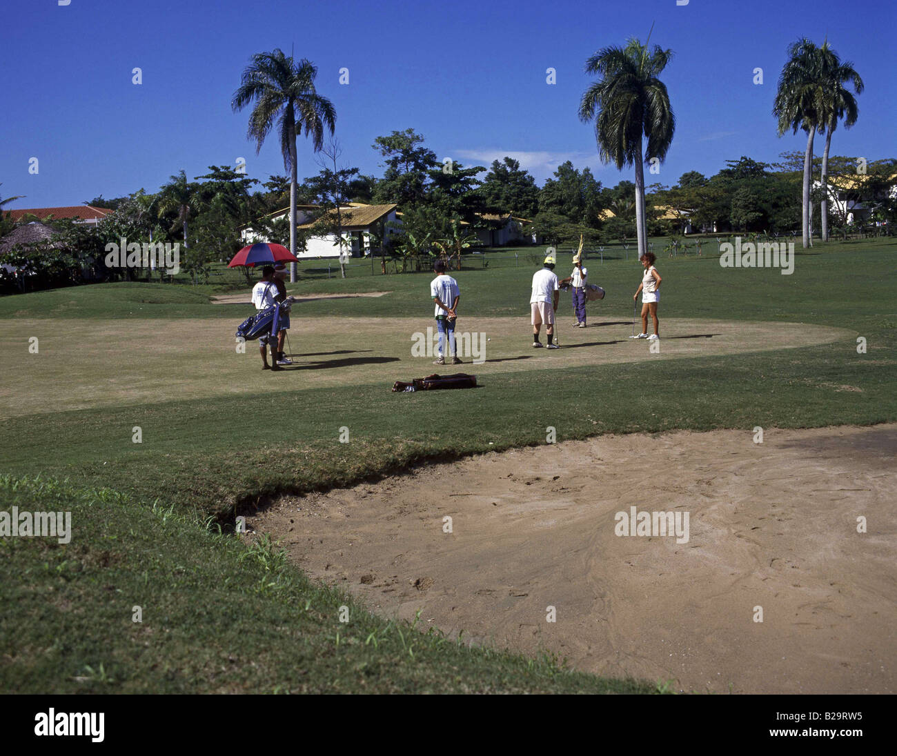 Golf Course Playa Dorada Dominican Republic Ref WP KW 6136 COMPULSORY CREDIT World Pictures Photoshot - Stock Image