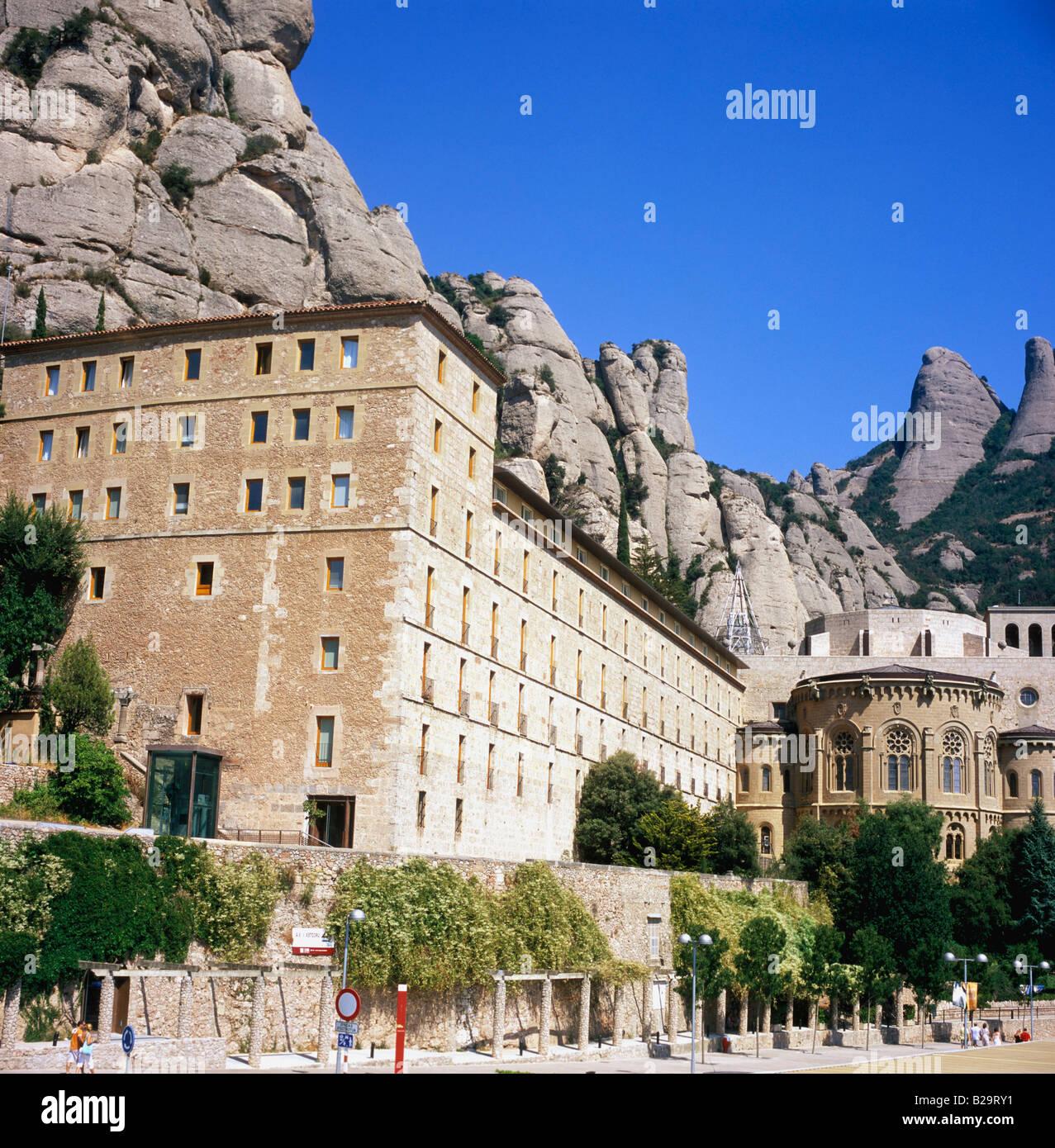 Montserrat Spain Ref WP LAKE 2002 COMPULSORY CREDIT World Pictures Photoshot - Stock Image