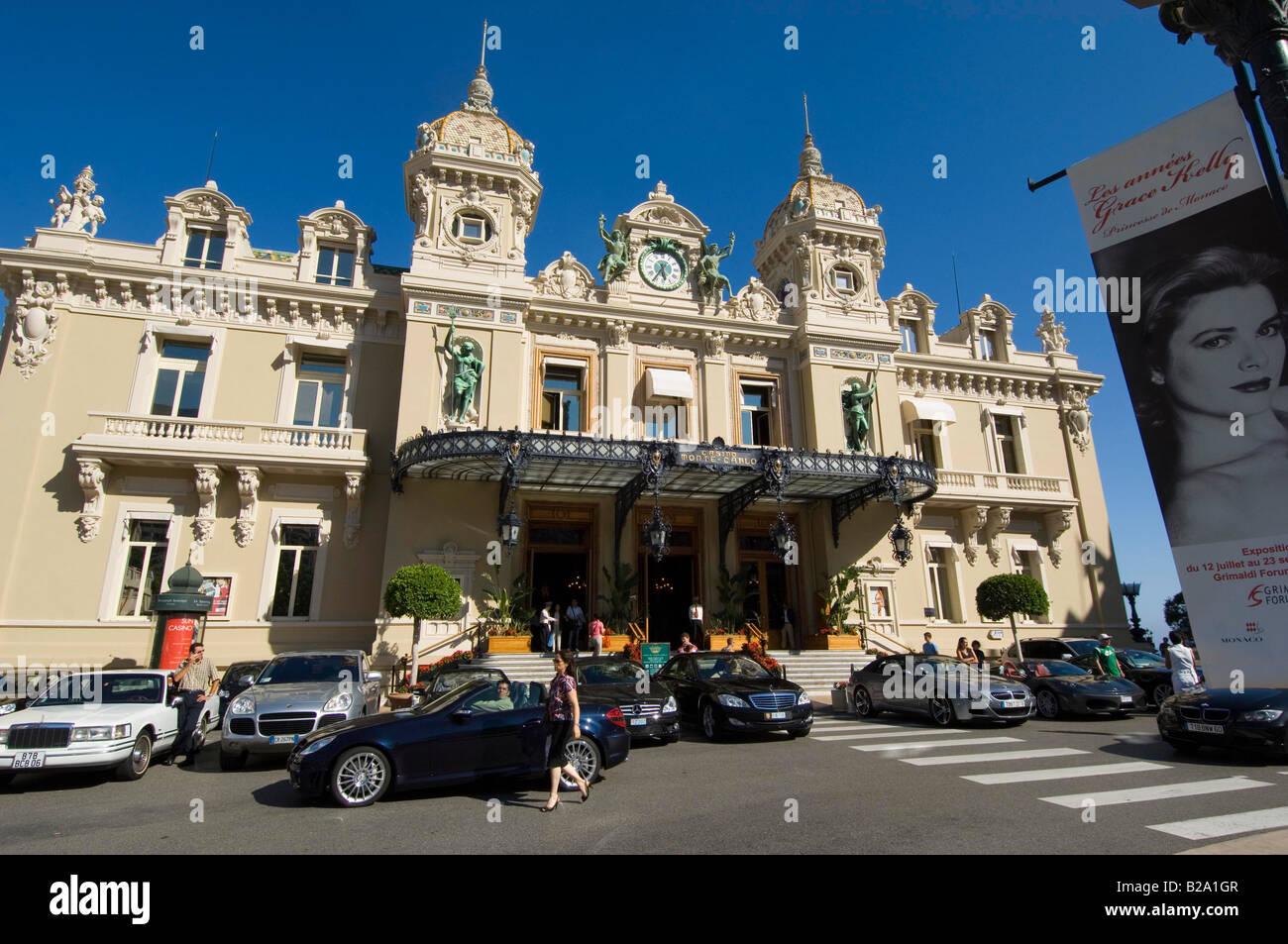 Principality of Monaco The Casino Date 12 02 2008 Ref WP B726 110139 0051 COMPULSORY CREDIT World Pictures Photoshot - Stock Image