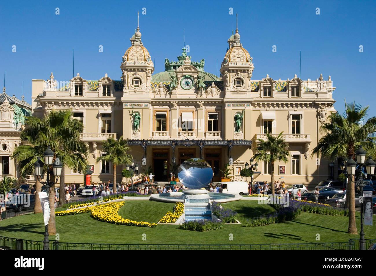 Principality of Monaco The Casino Date 12 02 2008 Ref WP B726 110139 0053 COMPULSORY CREDIT World Pictures Photoshot - Stock Image