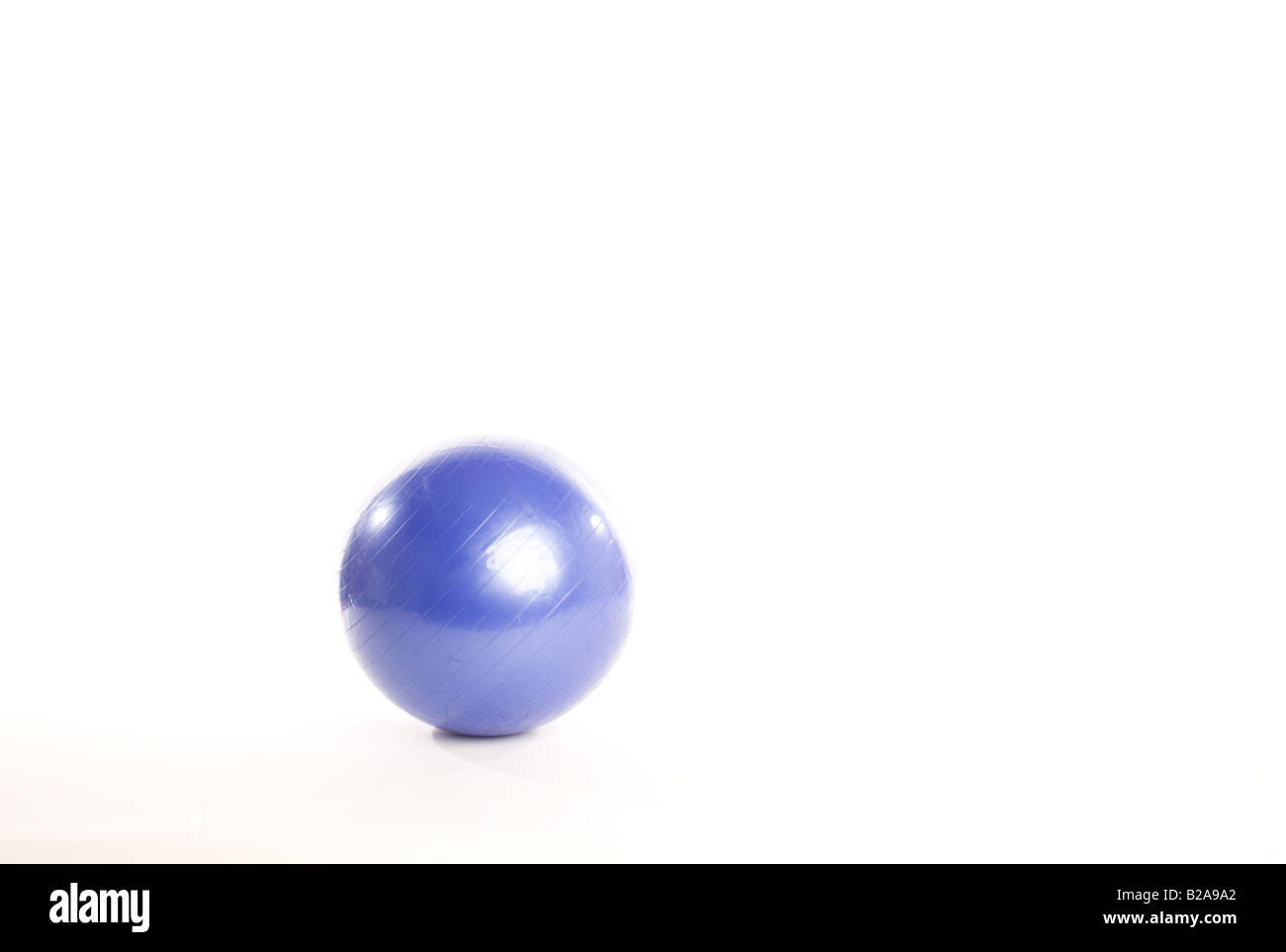 An exercise ball. - Stock Image