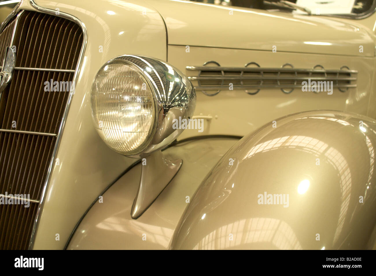 Plymouth Automobile Stock Photos Images 1950 To 1955 Cars Vintage Car Hood Fender Headlamp Classic Auto Image