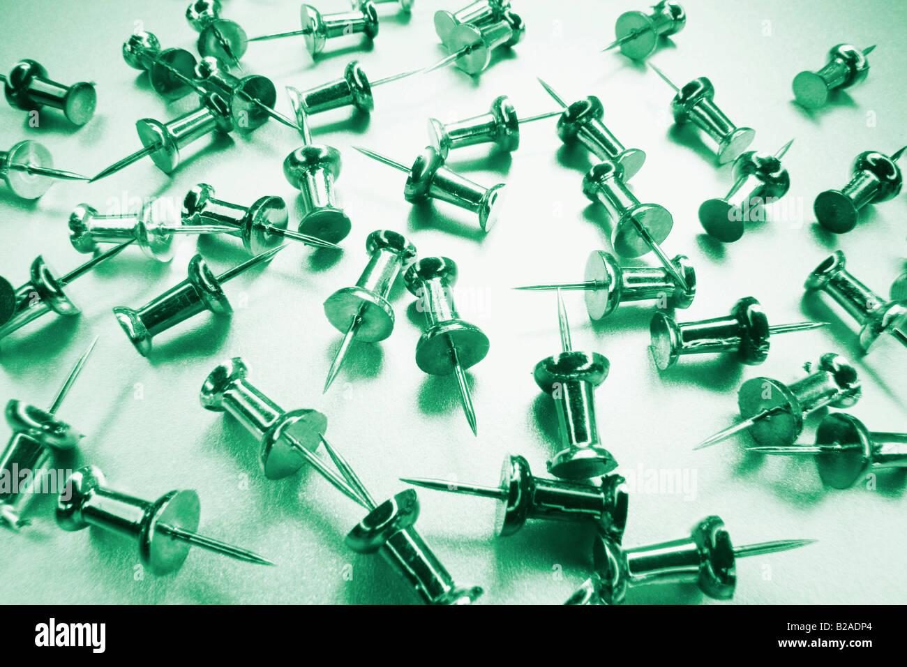 Push Pins - Stock Image