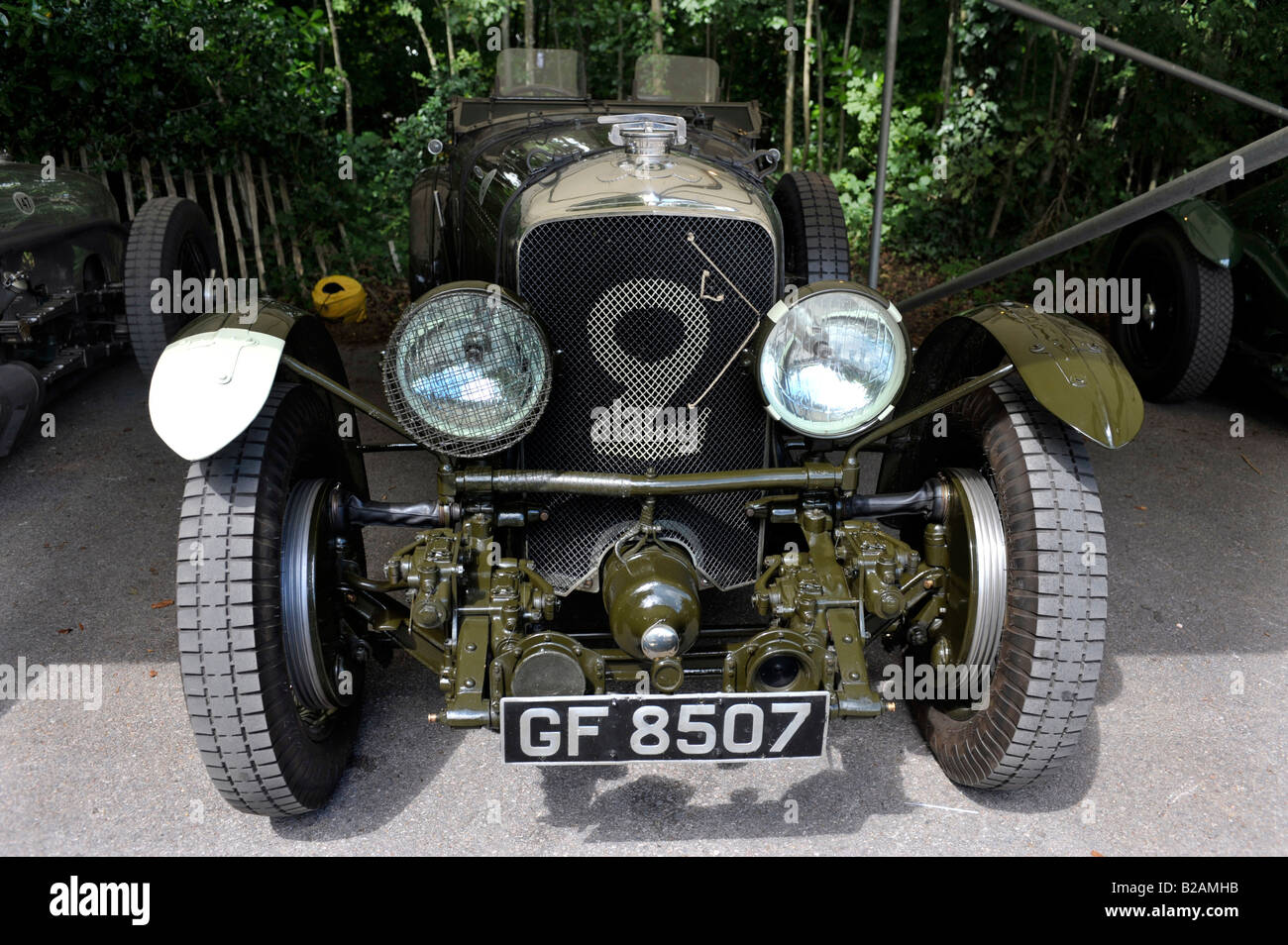 Bentley Old Number 2 1930 Speed Six Vintage Sports Car