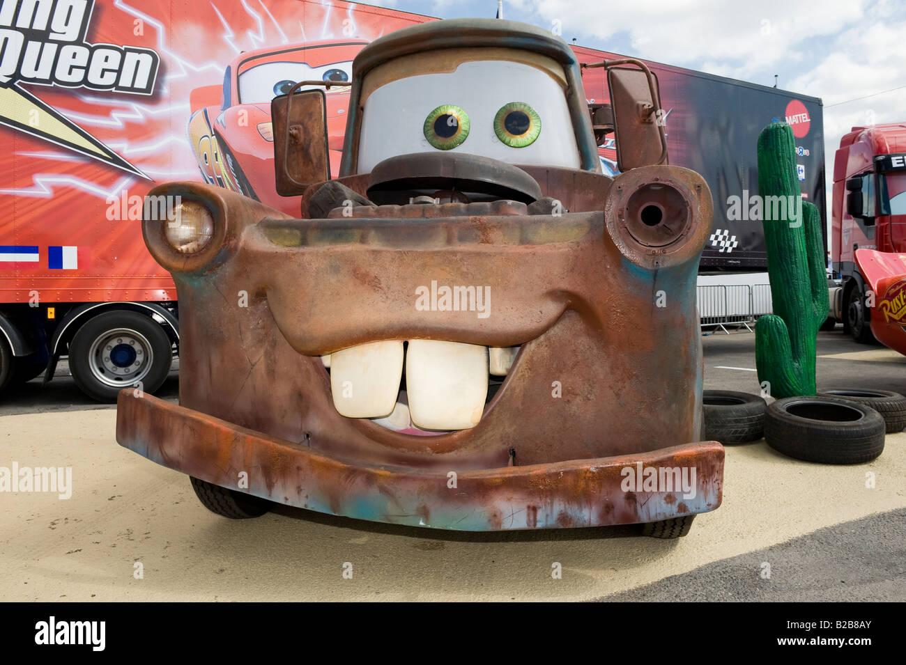 Matar From Disney Pixar Cars Film Stock Photo 18687731 Alamy