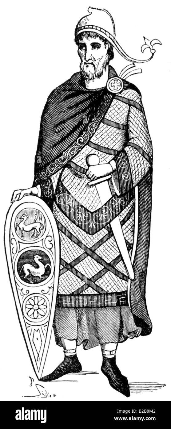 Knight Templar - Stock Image