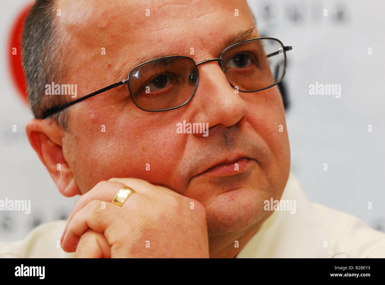 Victor Suvorov ,author ,GRU officer - Stock Image