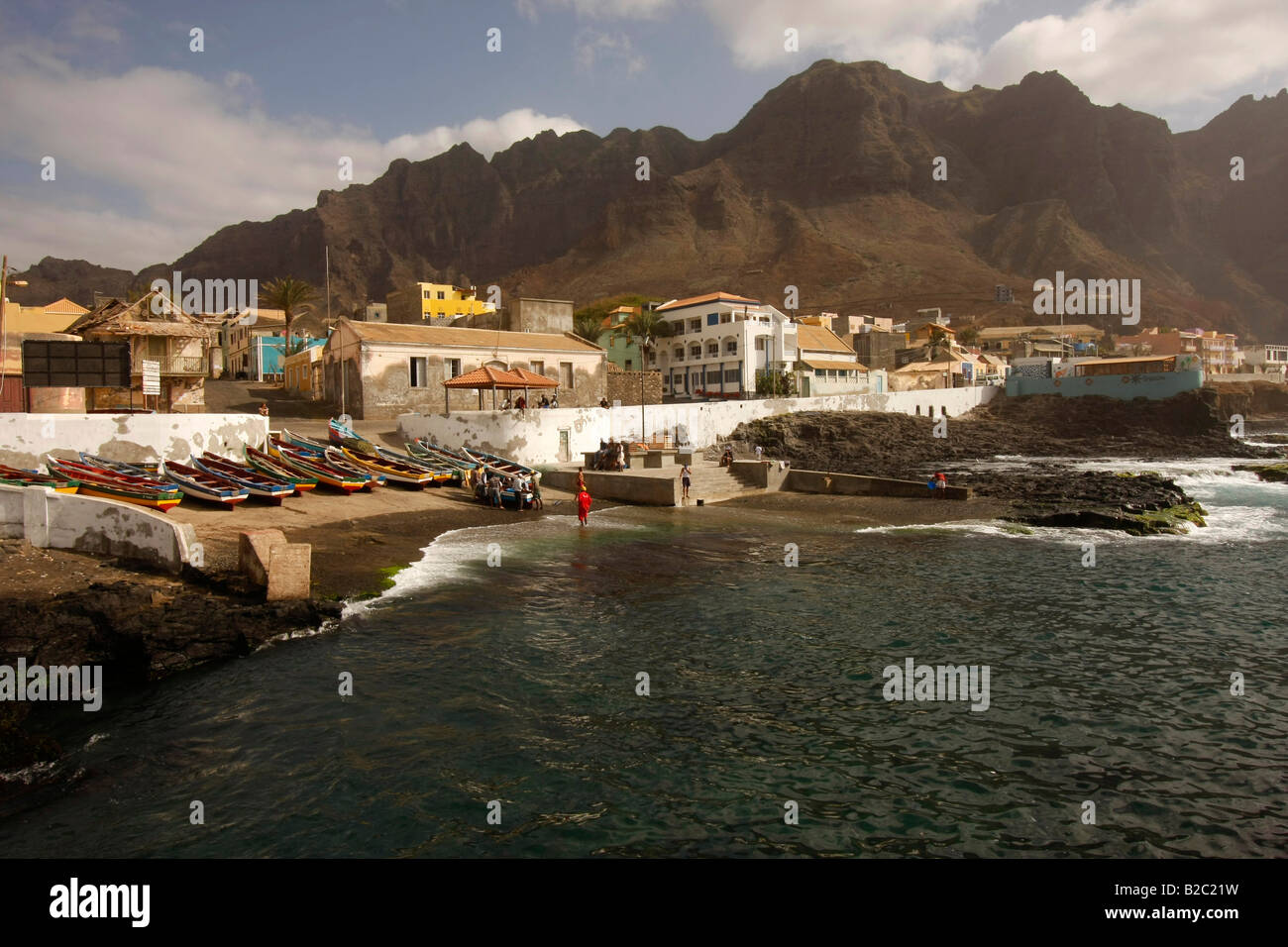 Ponta do Sol on Santo Antao Island, Cape Verde, Cape Verde Islands