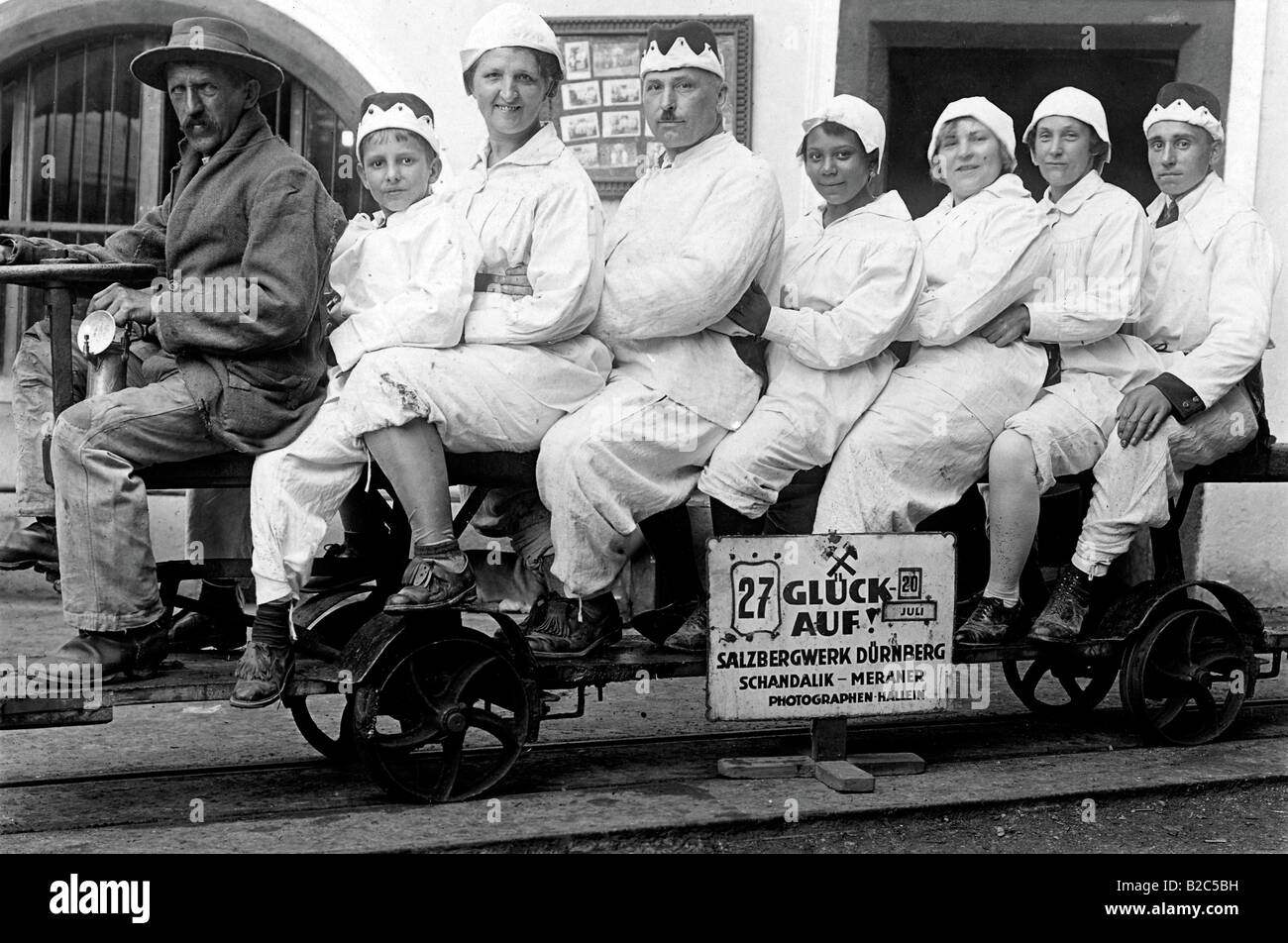 Good luck! historical photo, 20 July 1927 - Stock Image