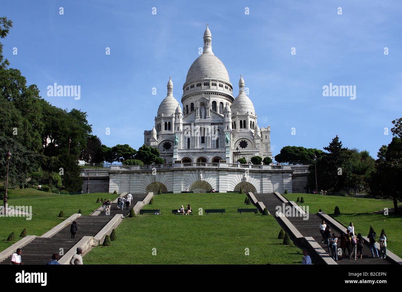 The Sacré-Cœur Basilica Paris France Basilique
