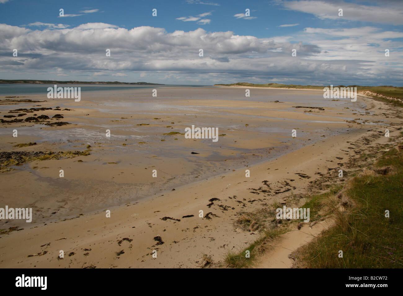 Loch Gruinart north Islay Hebrides Scotland - Stock Image