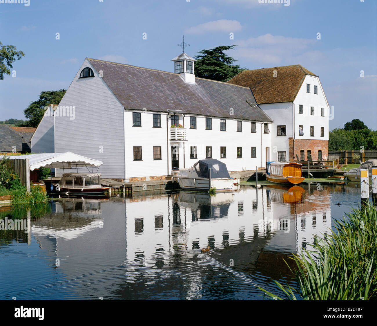 Hambleden Mill UK - England, Buckinghamshire - Stock Image