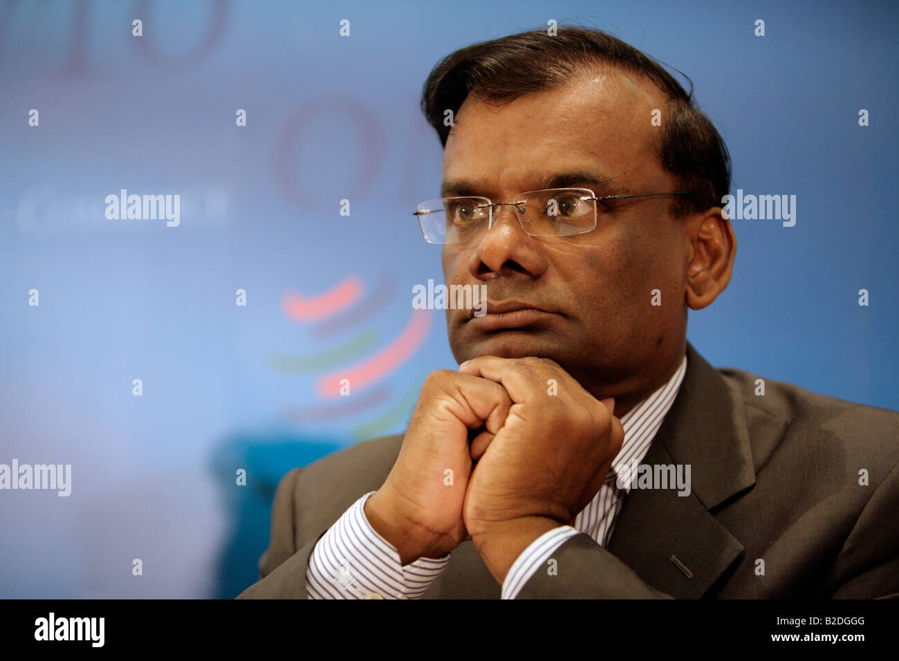 Ramakrishna Sithanen - Deputy Prime Minister,  Minister of Finance and Economic Development of Republic of Mauritius. Stock Photo