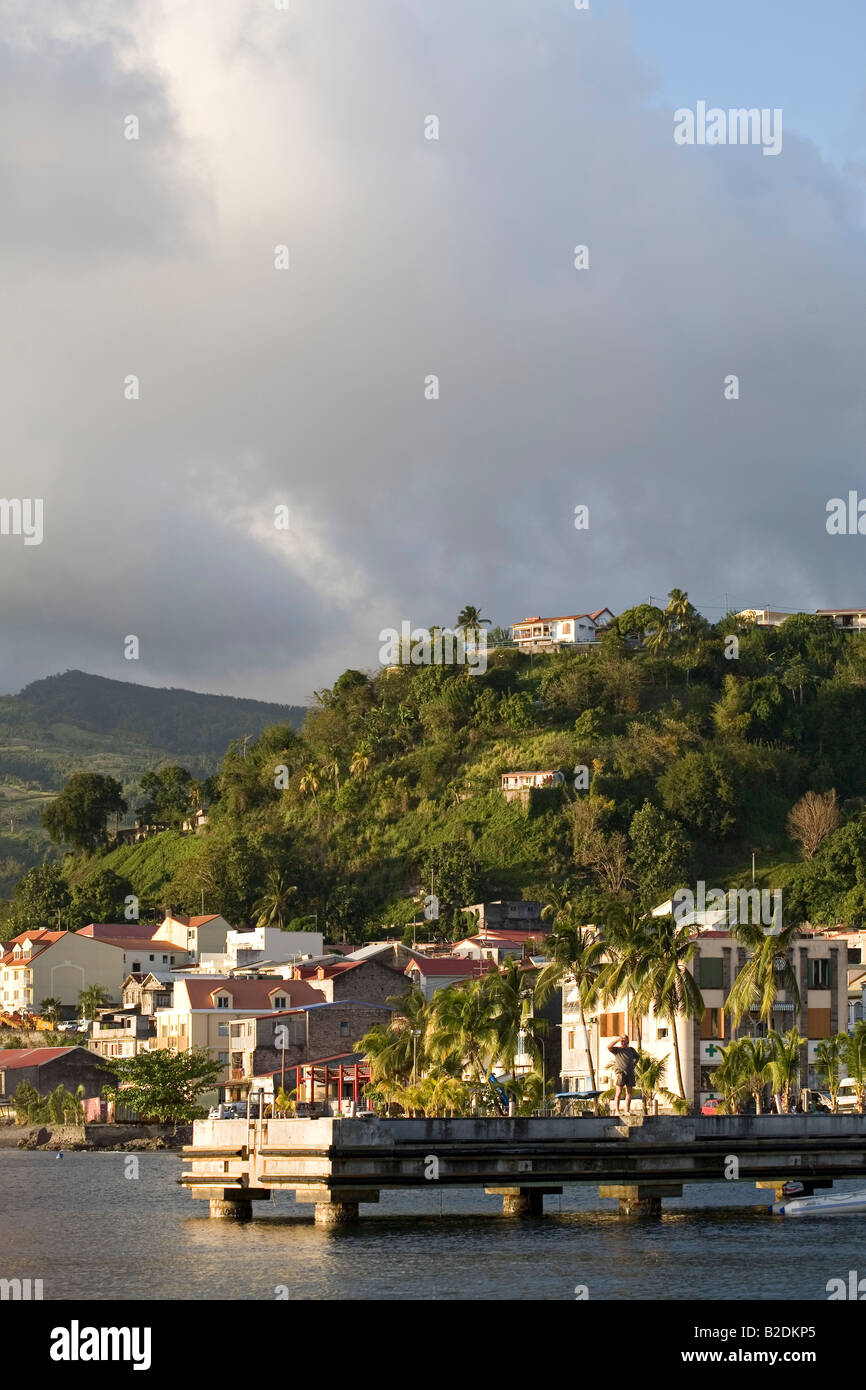 St Pierre Martinique - Stock Image
