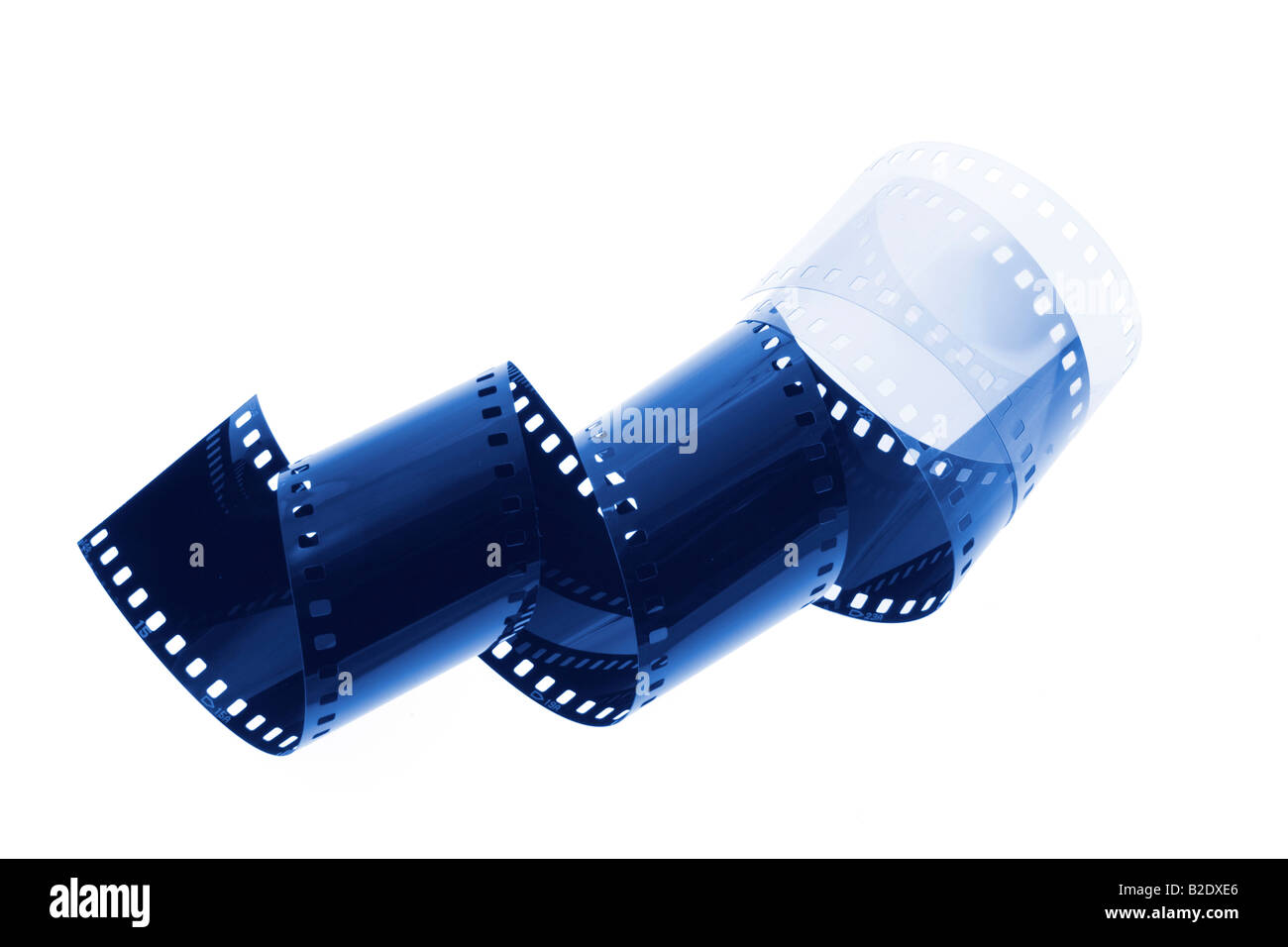 Blank Negative Film Stock Photo