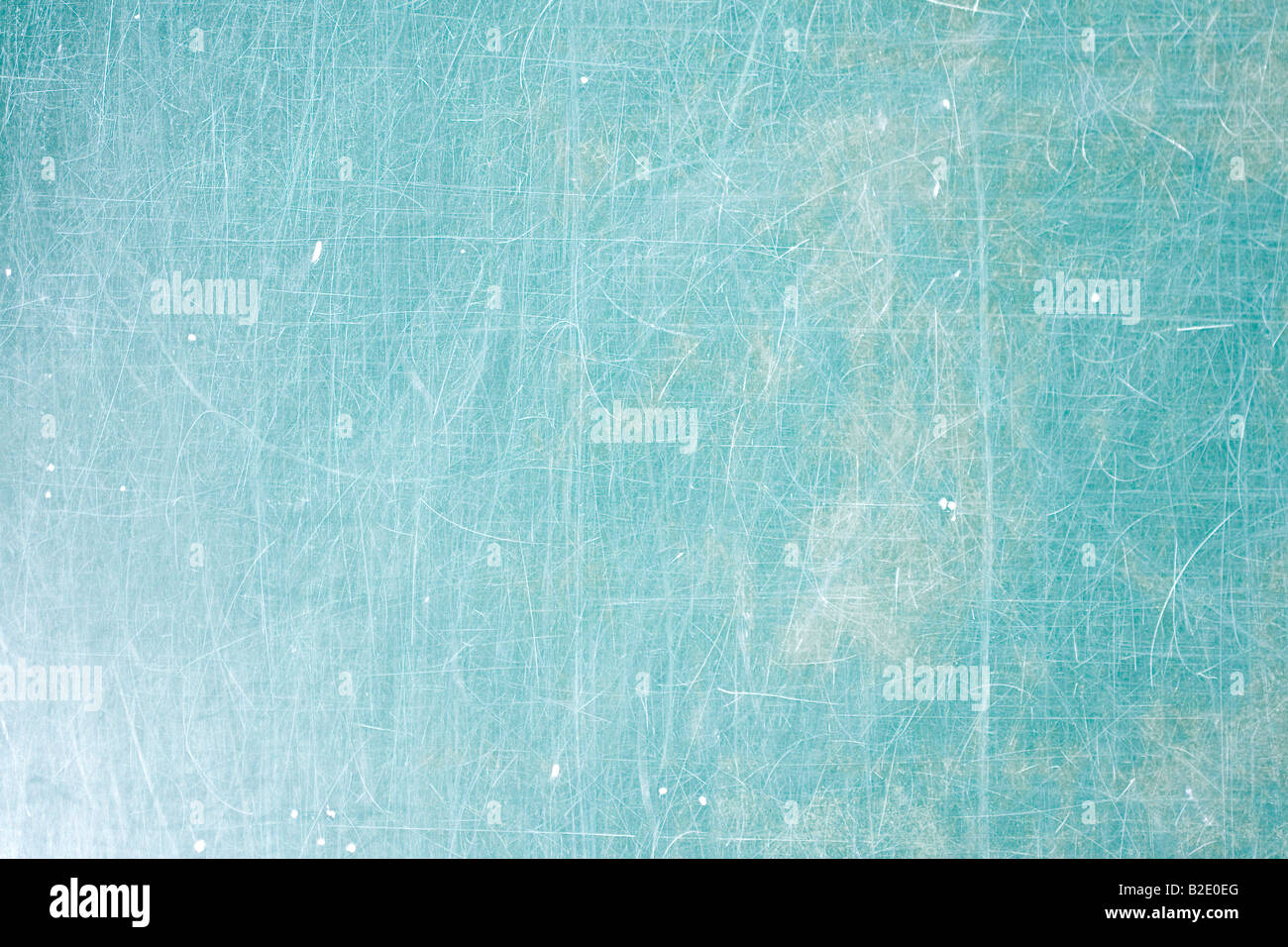 Scratchy green School desk background with copyspace Stock