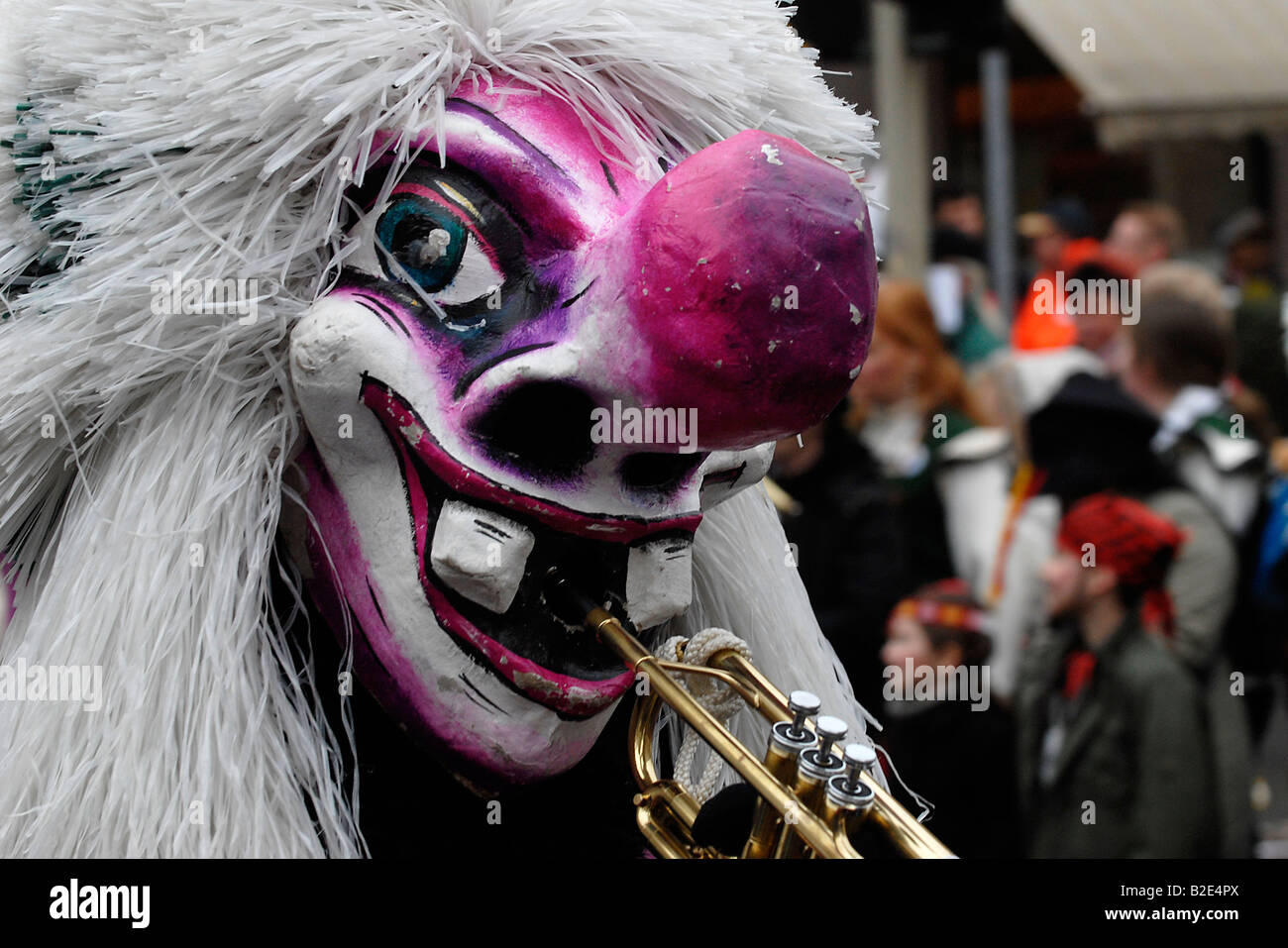 Scenes from carnival parade in Germany - Stock Image