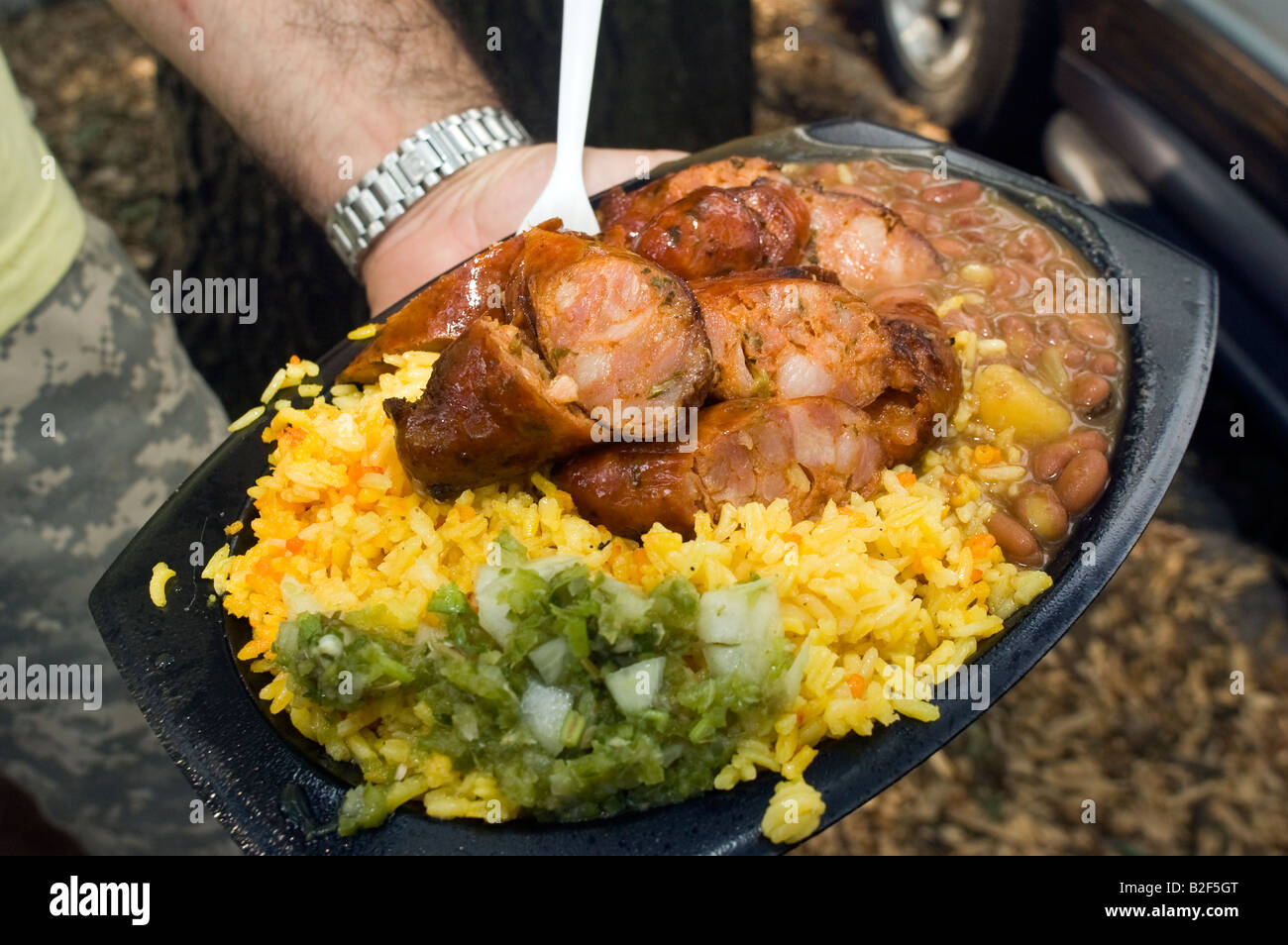 Colombian Food Truck Stock Photos Colombian Food Truck Stock