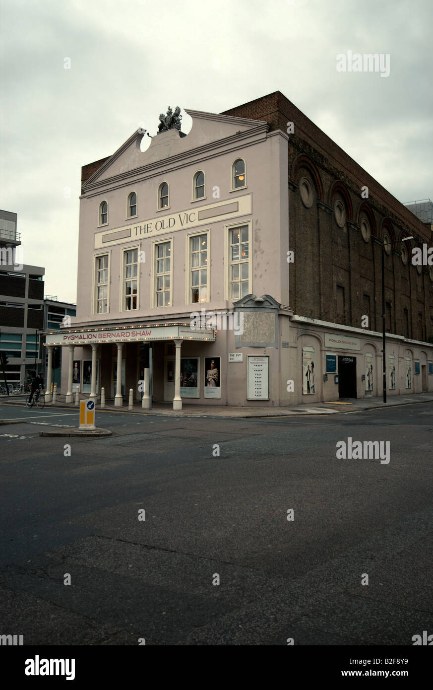 The Old Vic theatre in London playing Bernard Shaw's Pygmalion. - Stock Image