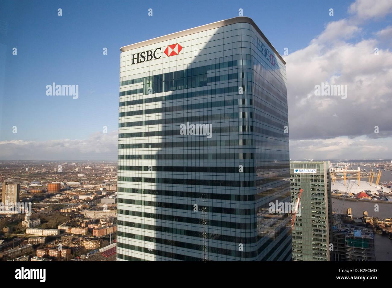 HSBC Headquarters London Stock Photo: 18778941 - Alamy