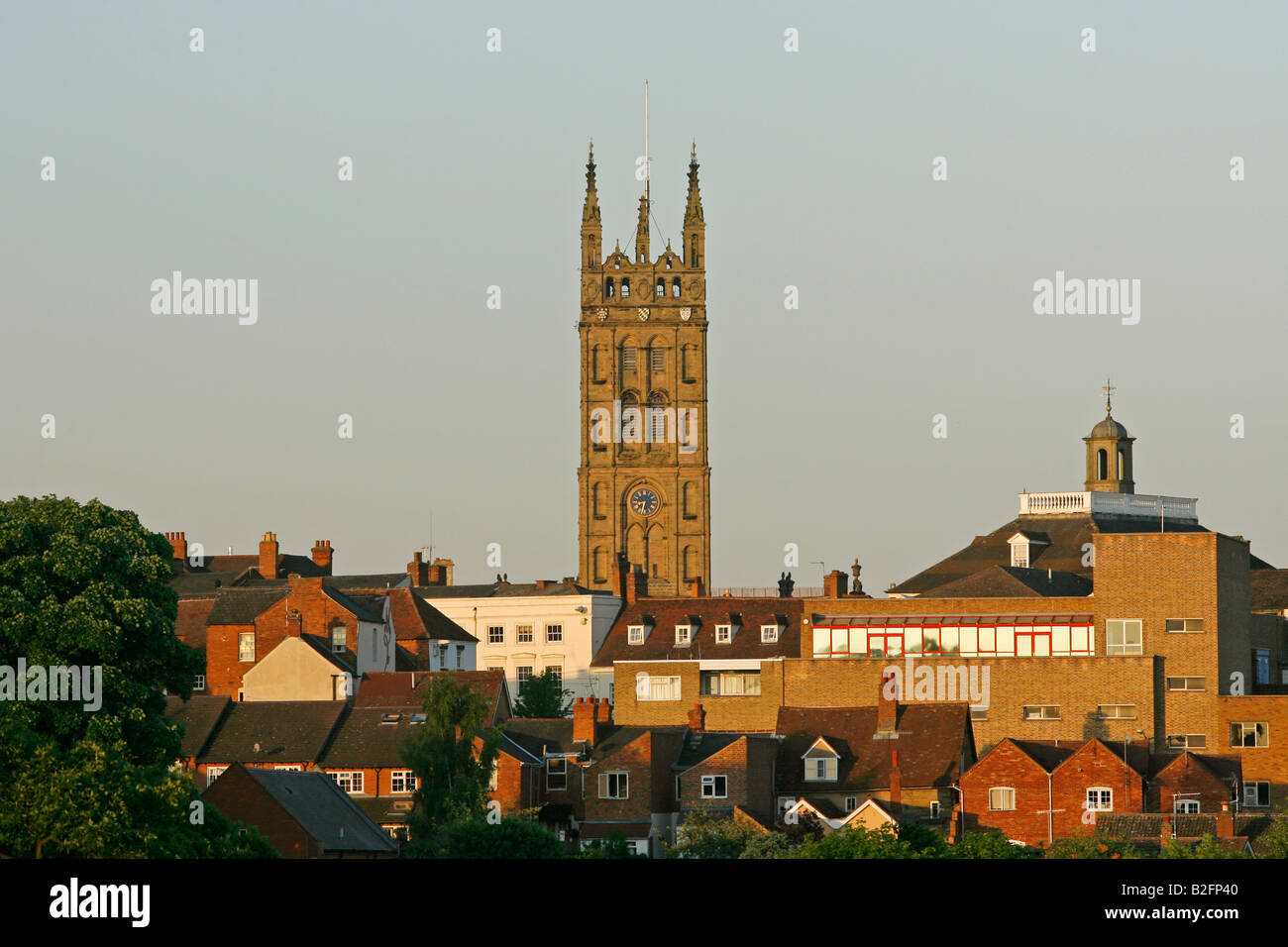 St Mary s Church Warwick England UK - Stock Image