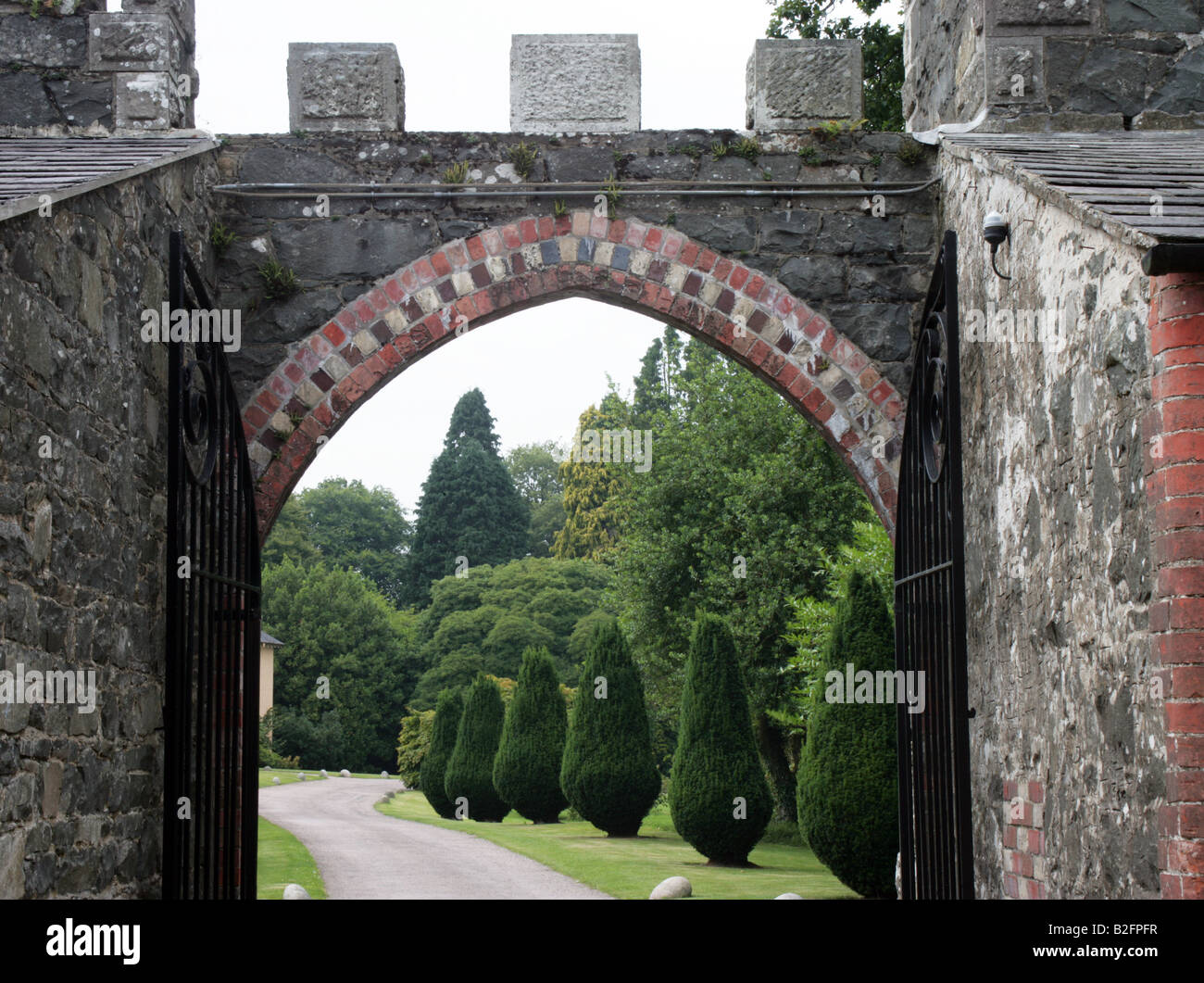 Rowallane Gardens County Down Northern Ireland - Stock Image