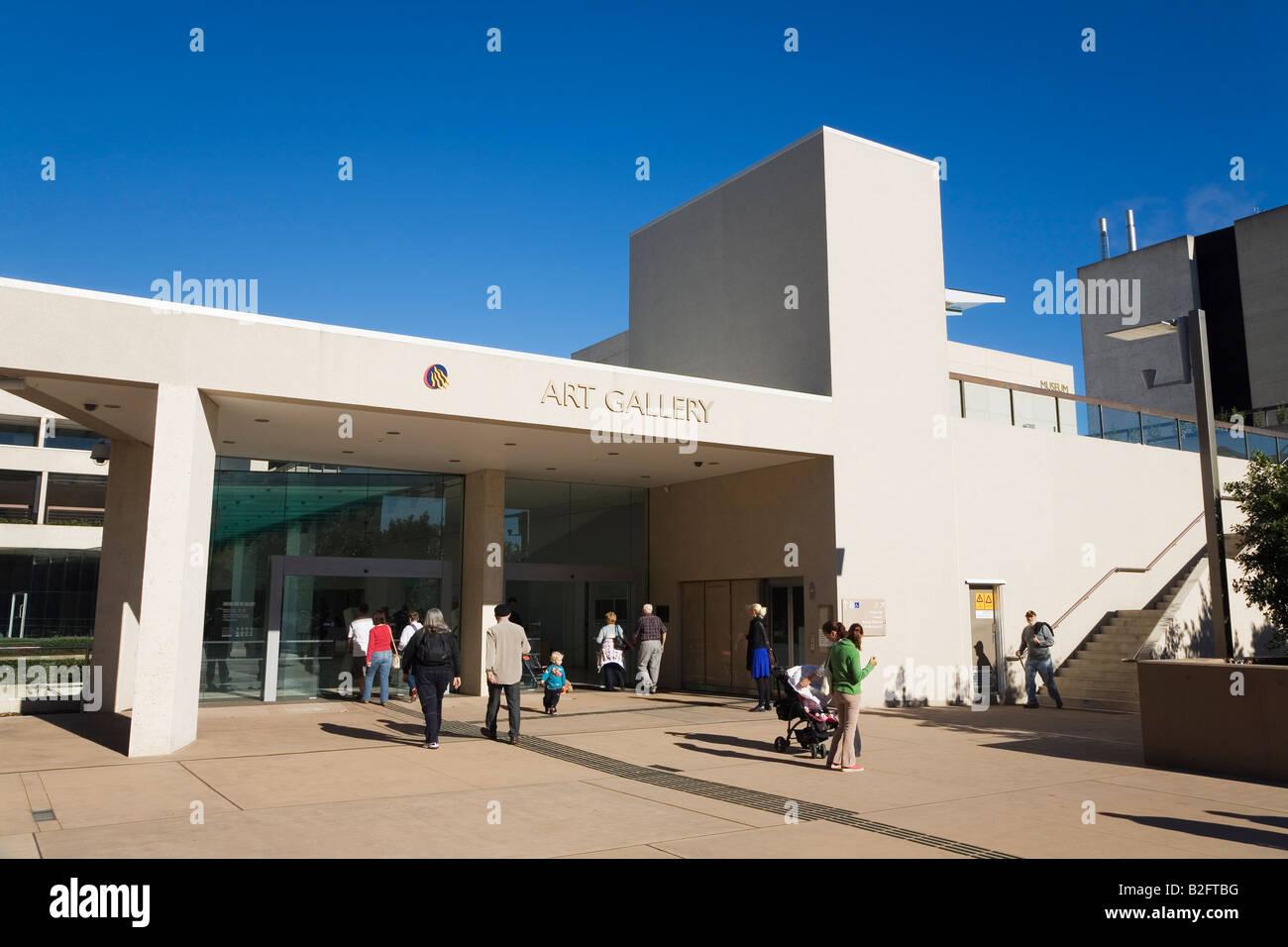 Art Gallery - Brisbane, Queensland, AUSTRALIA - Stock Image