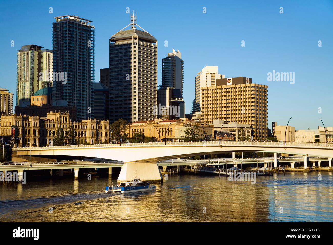 Brisbane city - Brisbane, Queensland, AUSTRALIA - Stock Image