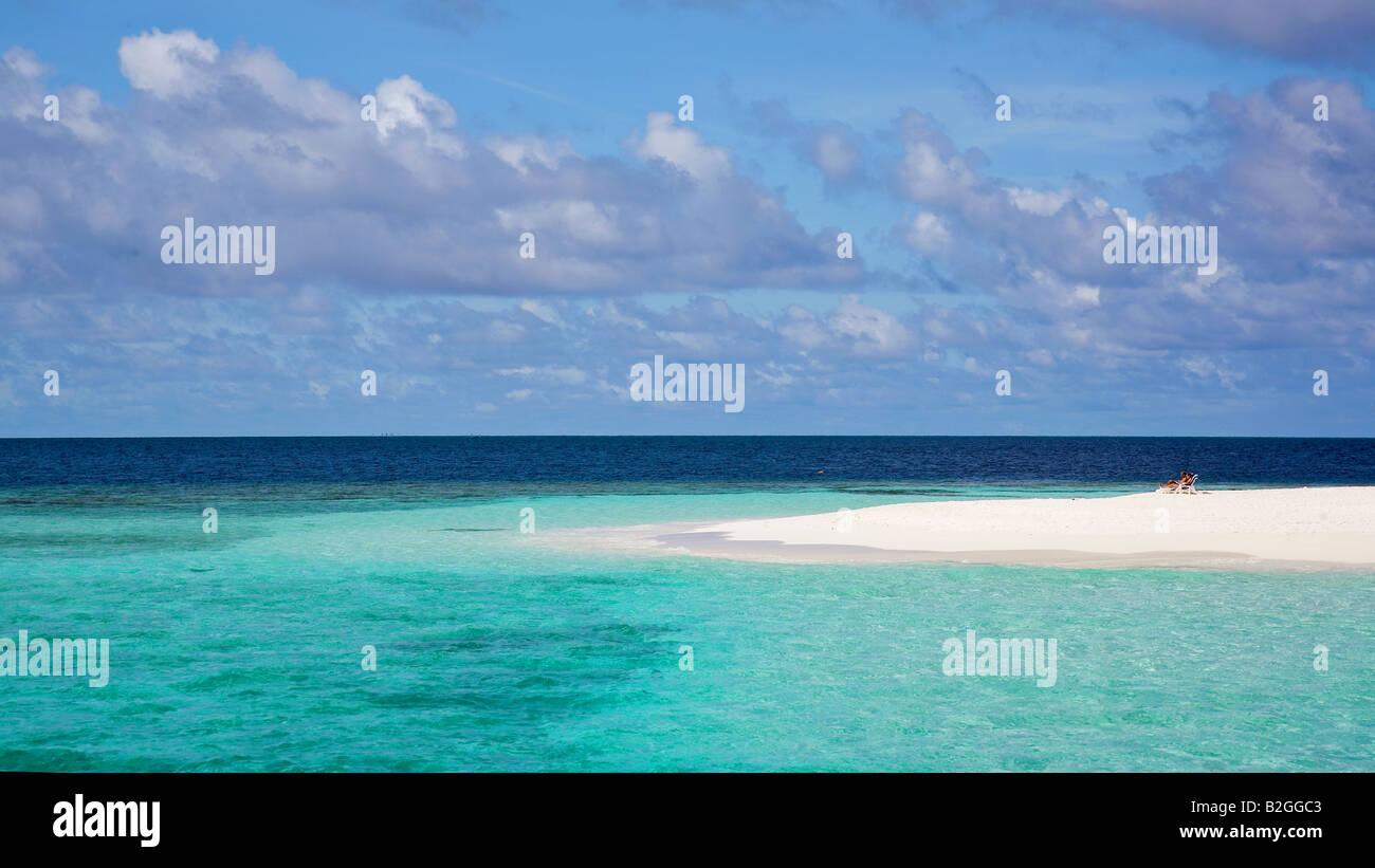 bluesea ocean maledives sand beach holiday photos vacation photo - Stock Image