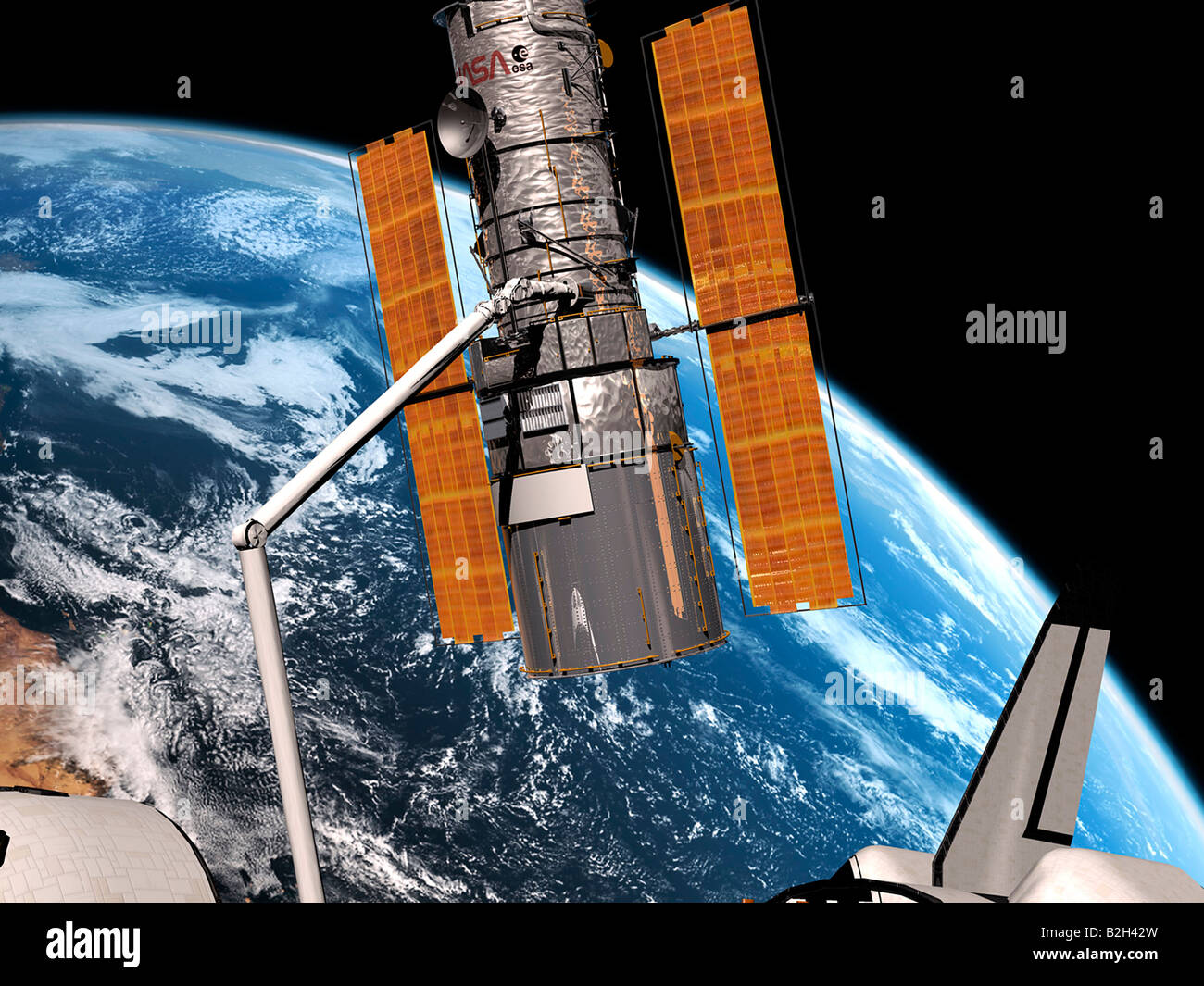 space shuttle hubble - photo #11