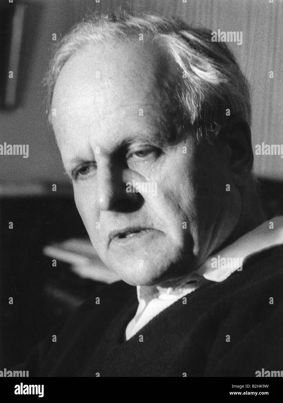 Weizsäcker, Carl Friedrich von, 28.6.1912 - 28.4.2007, German scientist (physics) and philosopher, portrait, - Stock Image