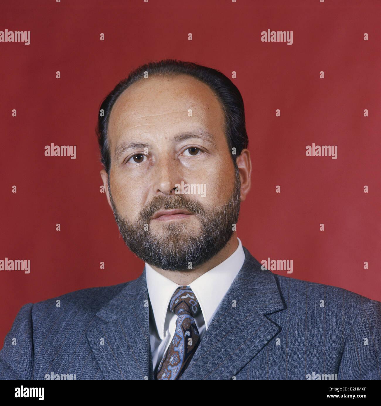 Engelhard, Hans Arnold, 16.9.1934 - 11.3.2008, German politician (FDP), portrait, 1972, Additional-Rights-Clearances - Stock Image