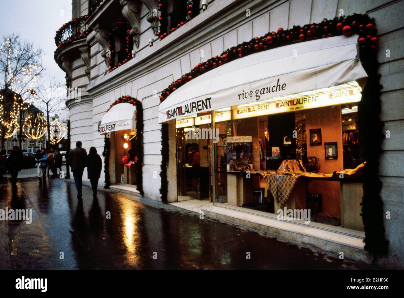 61b44bce7724a geography   travel, France, Paris, Champs Elysee, Yves Saint-Laurent shop,  Additional-Rights-Clearances-NA