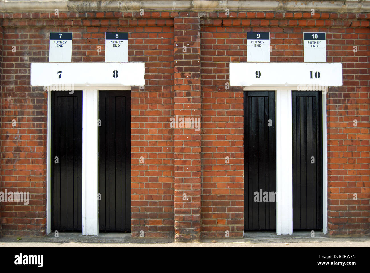 closed turnstile entrances at at craven cottage, home of fulham football club, southwest london, england - Stock Image