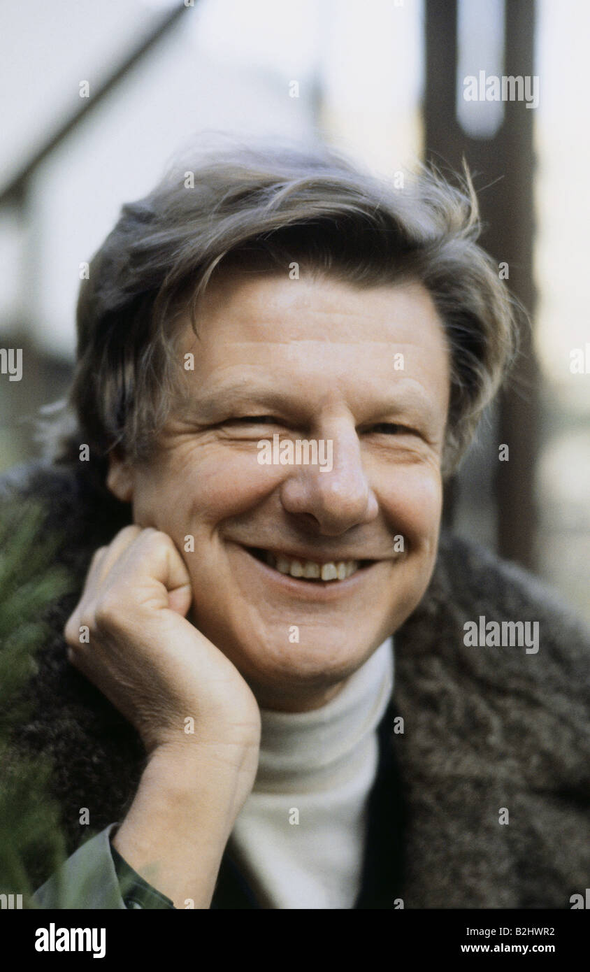 Bötticher, Herbert, 19.12.1928 - 8.10.2008, German actor, portrait, 1983, Additional-Rights-Clearances-NA - Stock Image
