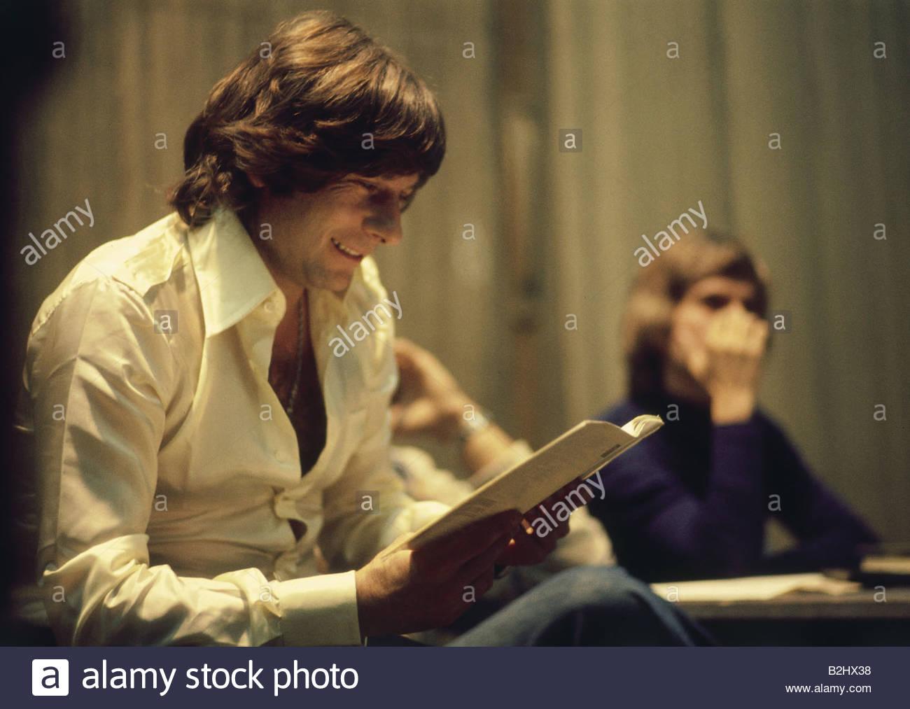Polanski, Roman, * 13.8.1933, Polish director and actor, half length, during rehearsal, 1970s, birth name: Roman - Stock Image