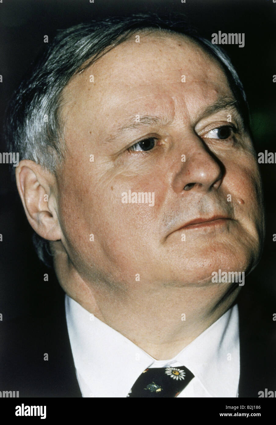 Lafontaine, Oskar, * 16.9.1943, German politician, Federal Minister of Finance 1998 - 1999, portrait, , Additional - Stock Image