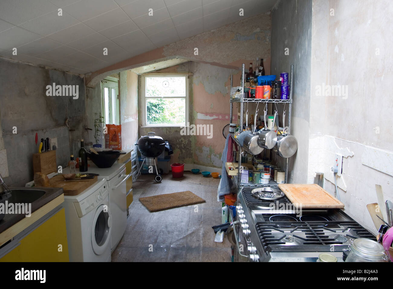 Interior Of A Georgian Regency House In South East London Undergoing Stock Photo Alamy