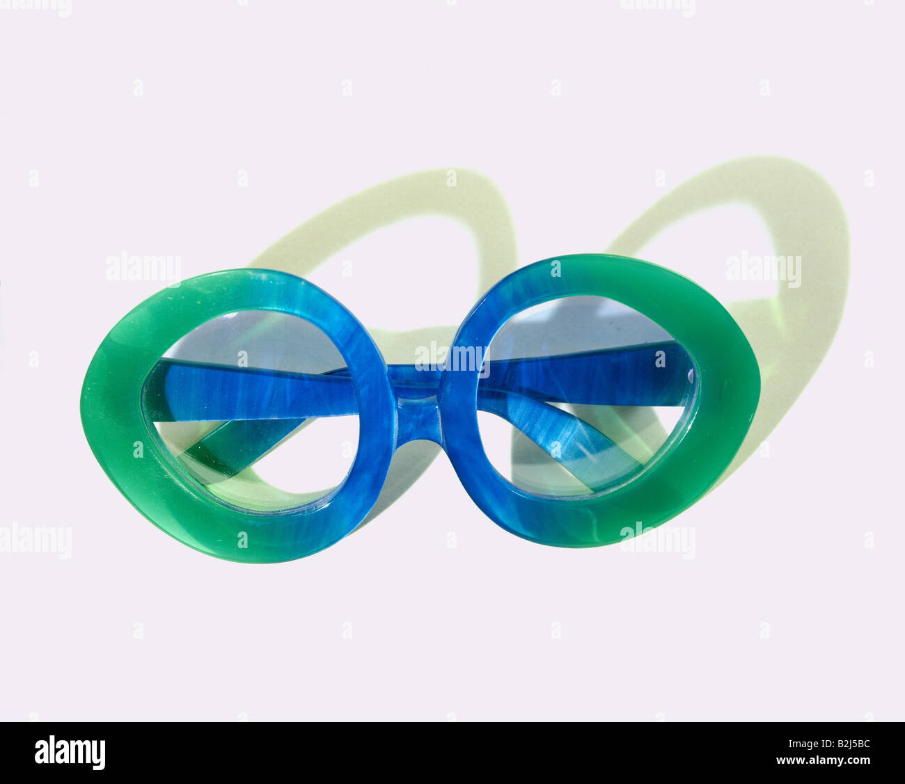 medicine, ophthalmology, glasses, glasse for women, Rodenstock, plastic frame, circa 1960, Additional-Rights-Clearances - Stock Image