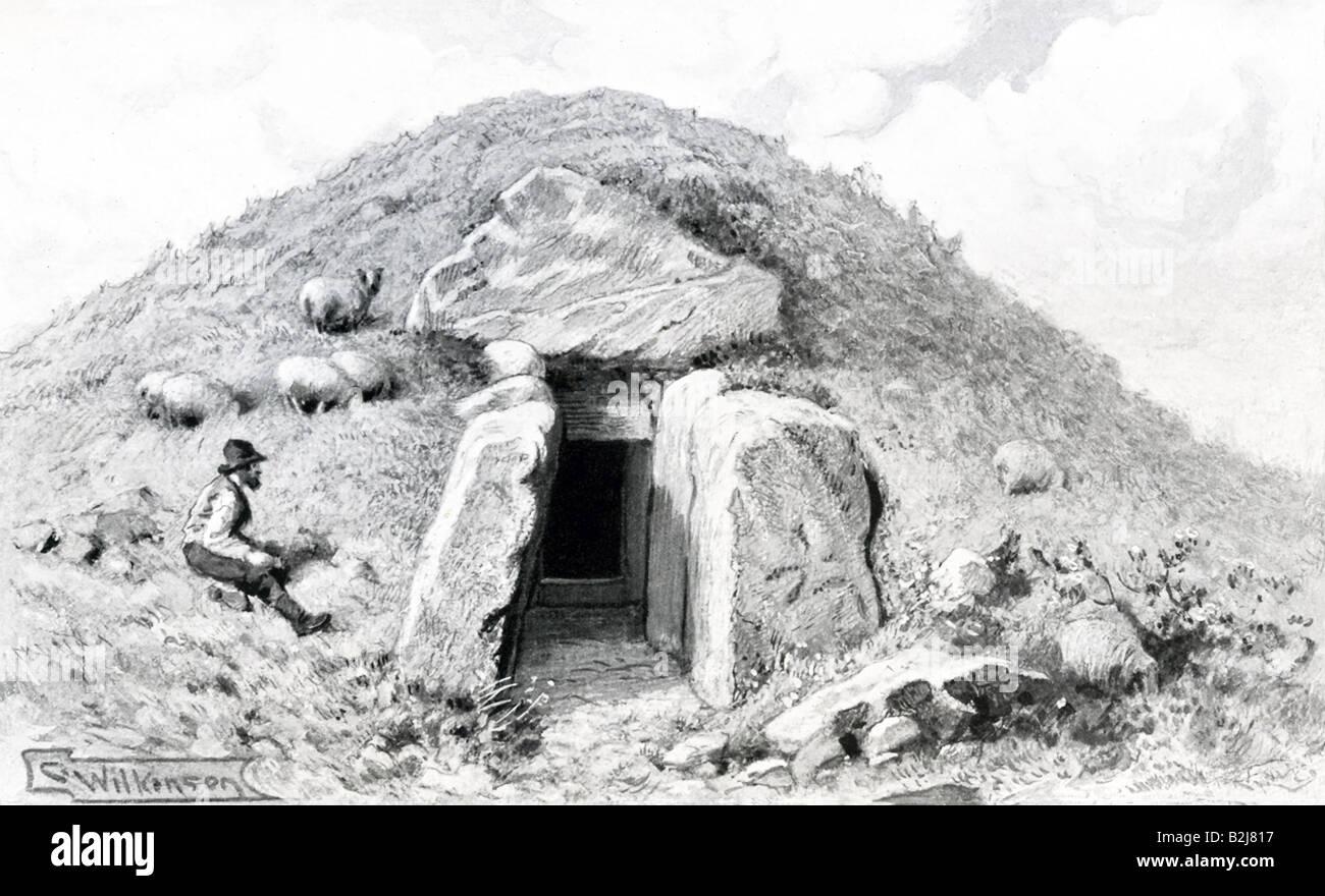 Grendel's Den - Stock Image
