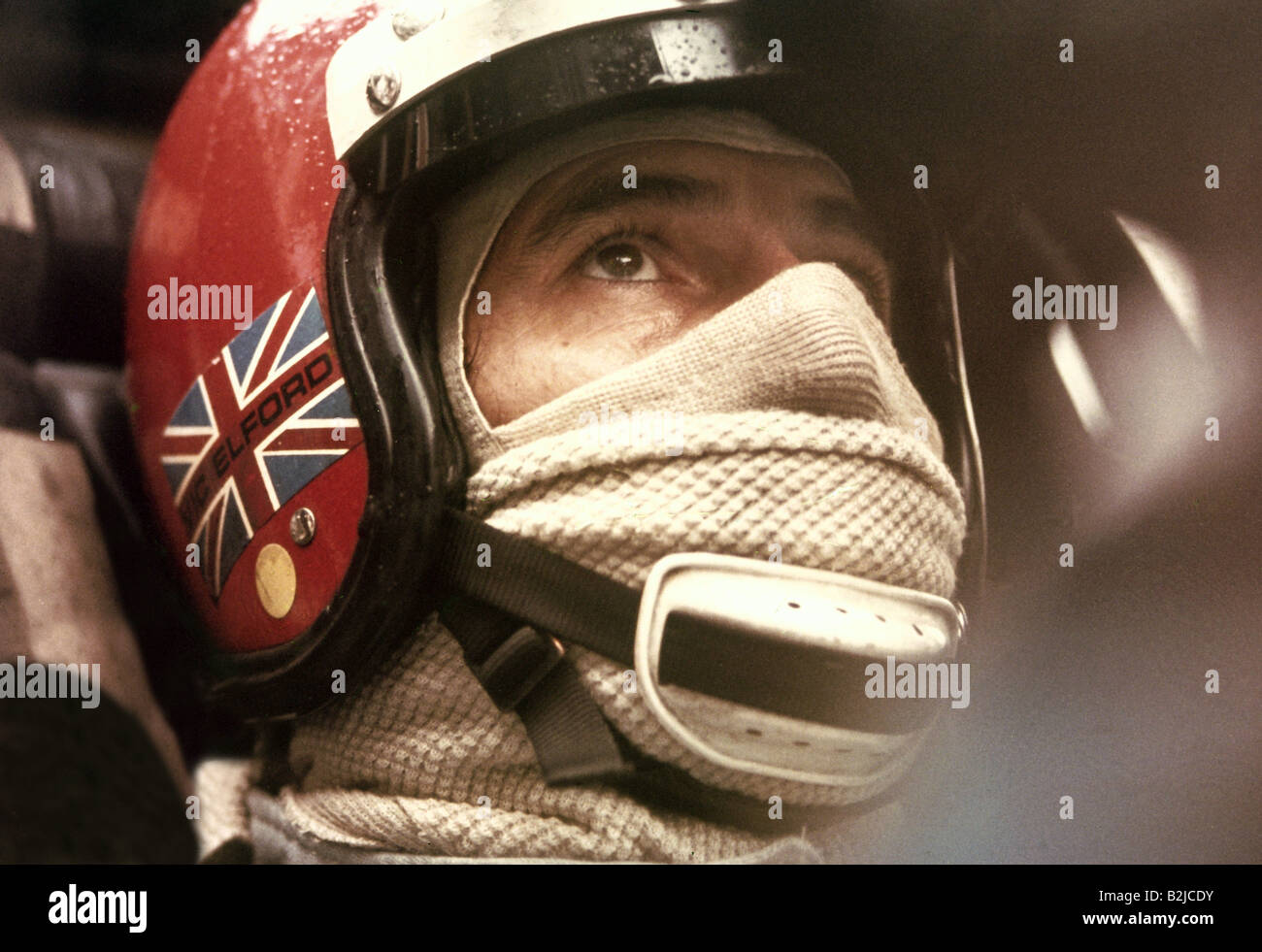 Elford, Vic, * 10.6.1935, Britain athlete, (automobile racer), racing car, Monza, 1971, Additional-Rights-Clearances - Stock Image