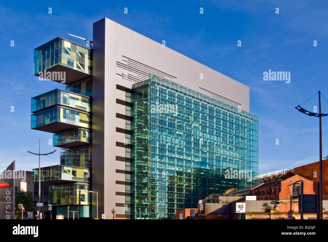 The Civil Justice Centre, Manchester, England, UK - Stock Image