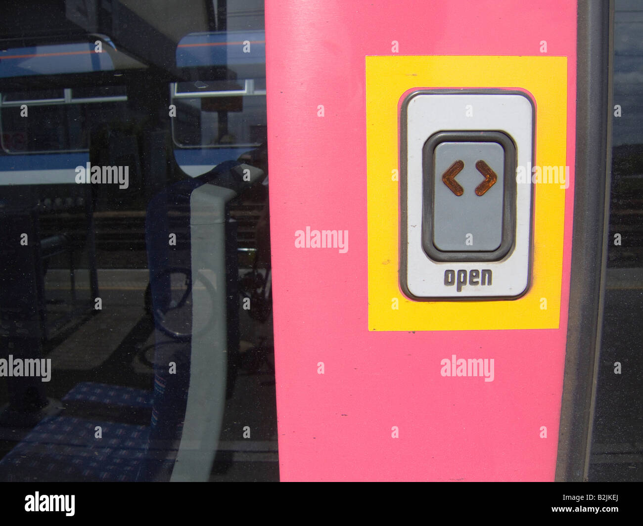 The open button on a British Train - Stock Image & Train Door Button Stock Photos u0026 Train Door Button Stock Images - Alamy