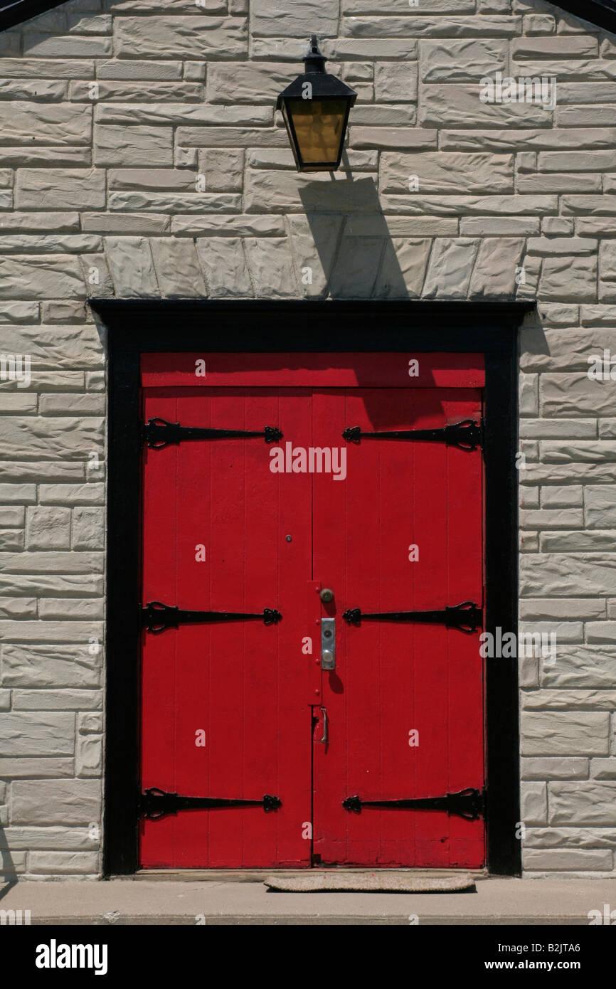 Red Doors Church Stock Photos Amp Red Doors Church Stock