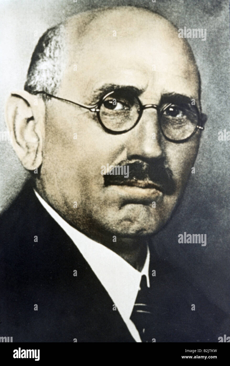 Stegerwald, Adam, 14.12.1874 - 3.12.1945, German politician (Centre Party), portrait, circa 1925, , Additional-Rights - Stock Image